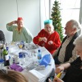 Friends of the Elderly and Travel Places Christmas lunch in Brighton for isolated elderly people