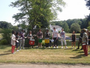Woodcote Grove House Challenge Volunteers July 2013
