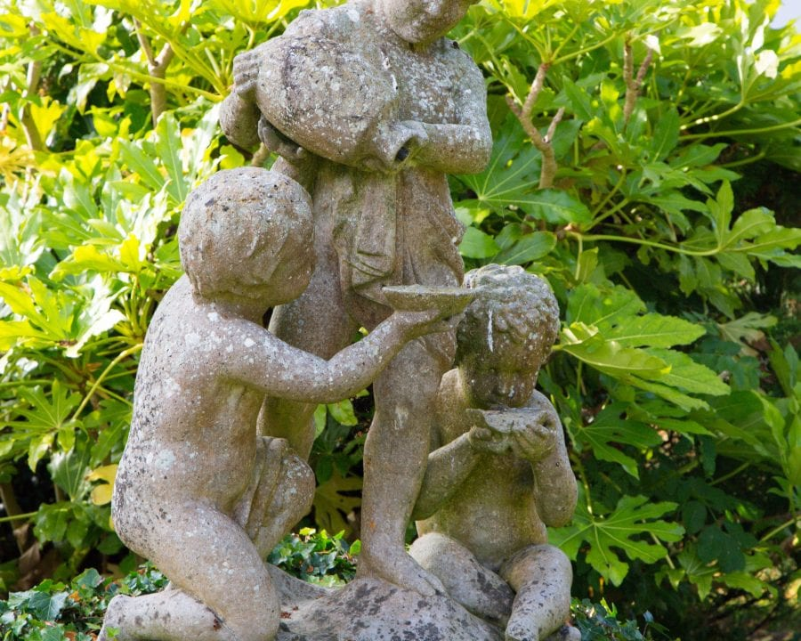 Coulsdon statute in garden