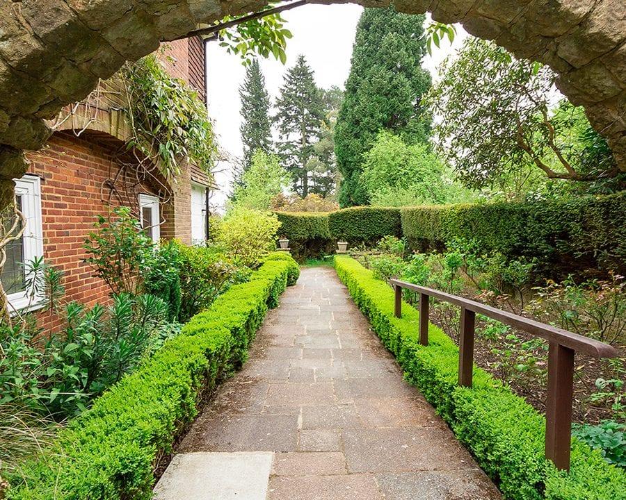 Redcot garden path arch