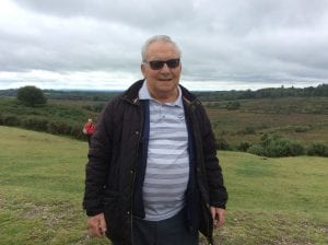 Mick Chalcroft in the New Forest