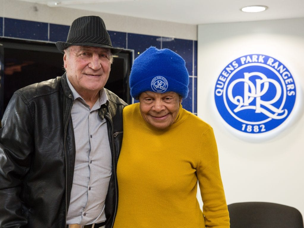 Mark Lazarus and QPR fan