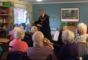 Mayor of Woking - Graham Cundy - at Bernard Sunley