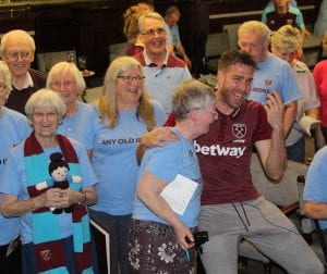 Match of the Day films Any Old Irons