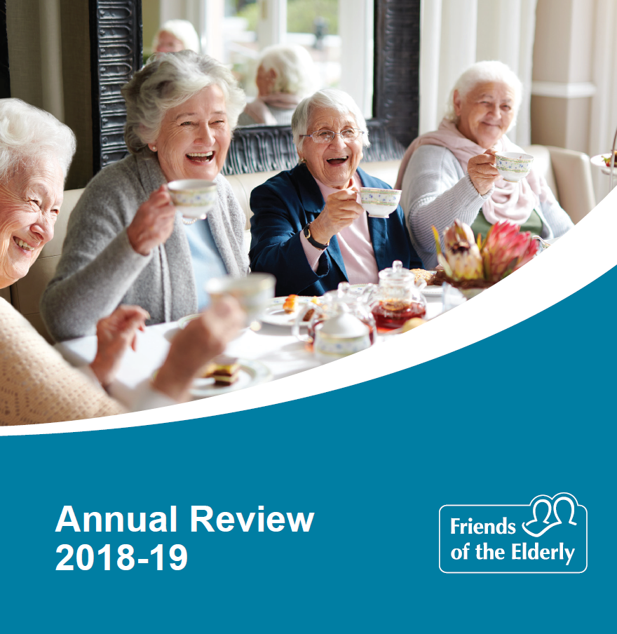 Our 2018-19 Annual Review front cover