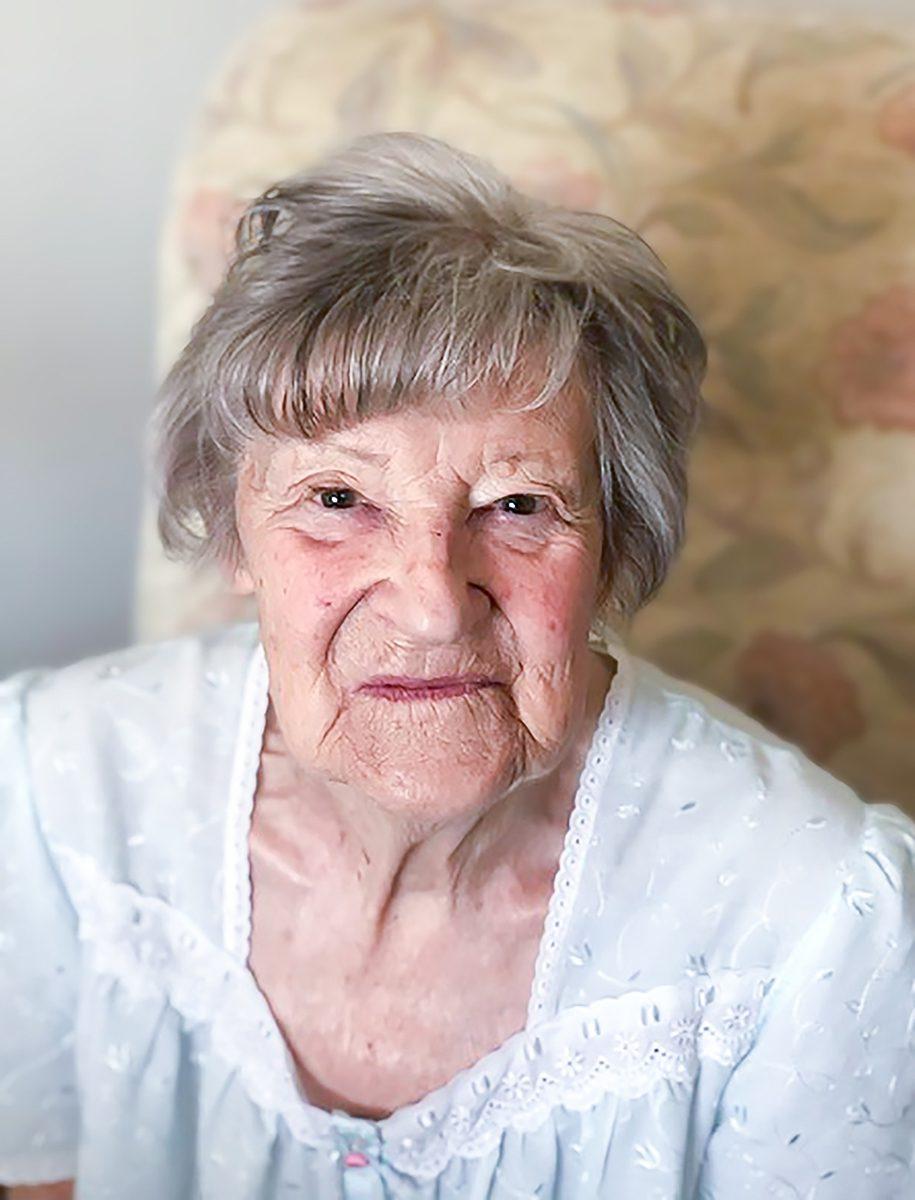 Redcot resident Sybil Cross