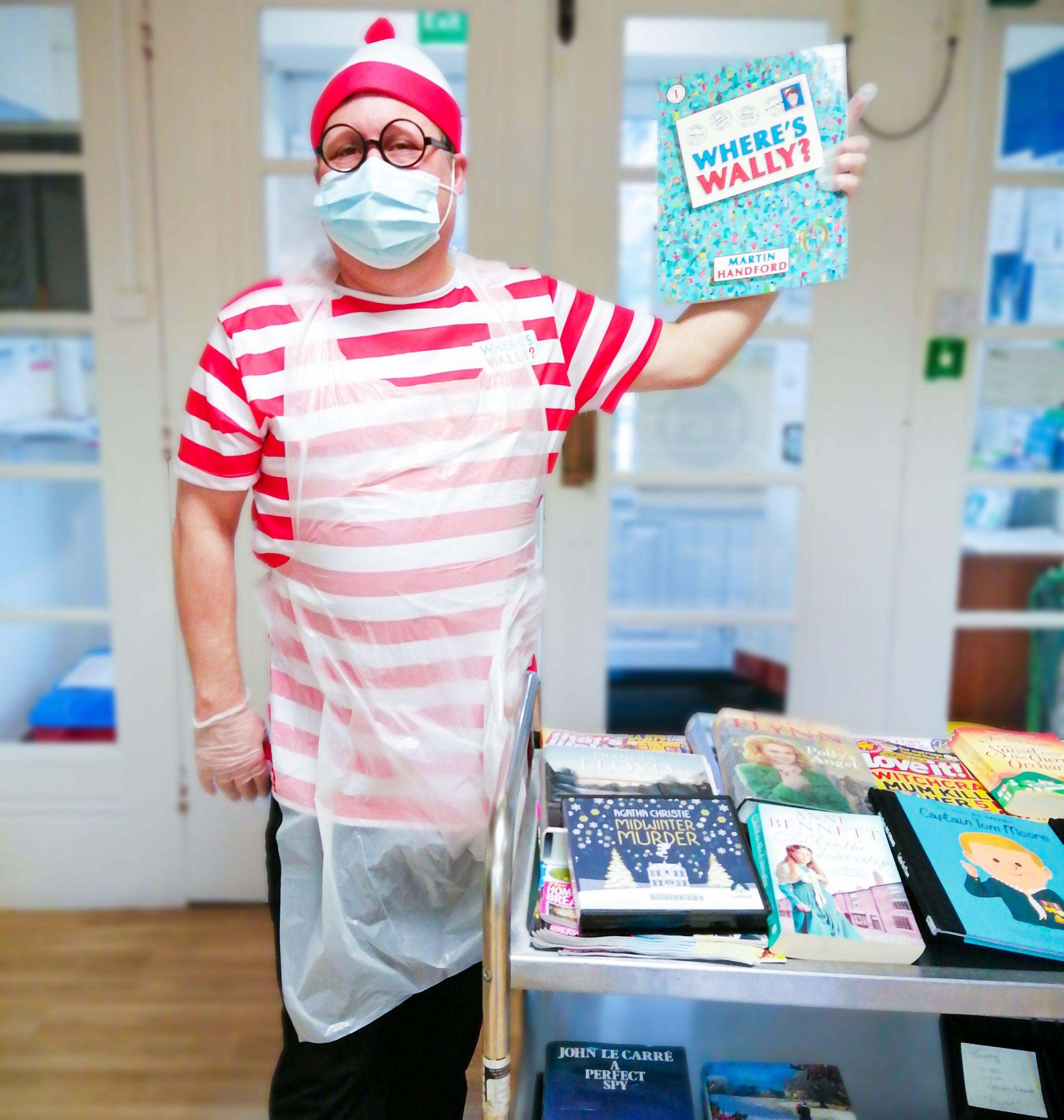 Rob dressed as Wally