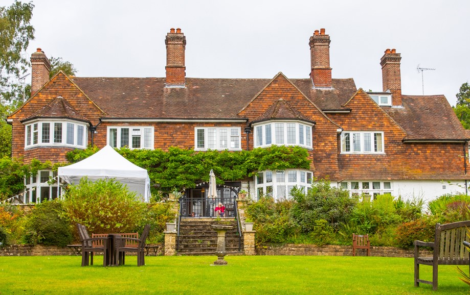Redcot care home in Surrey