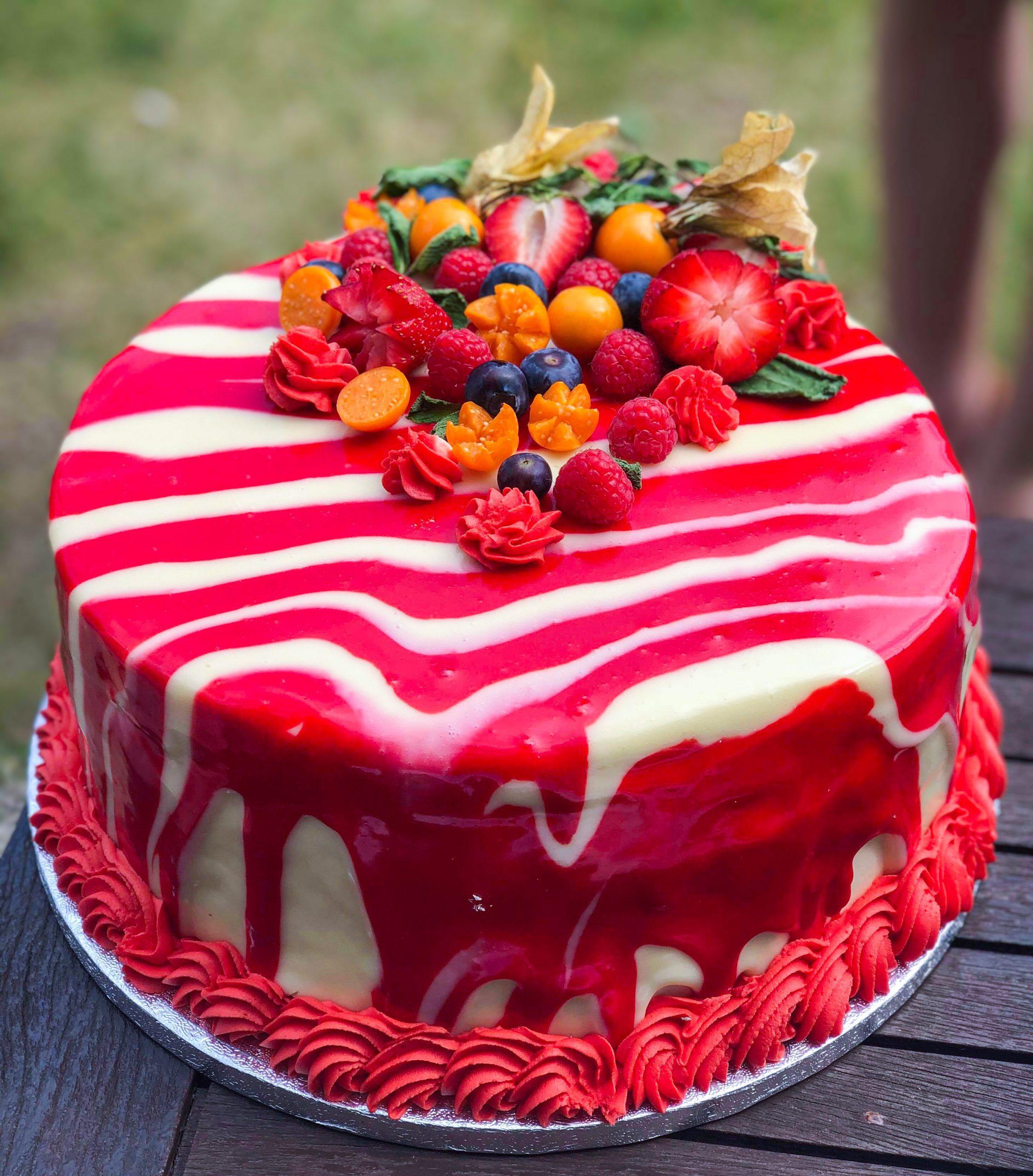 Bill's handmade birthday cake