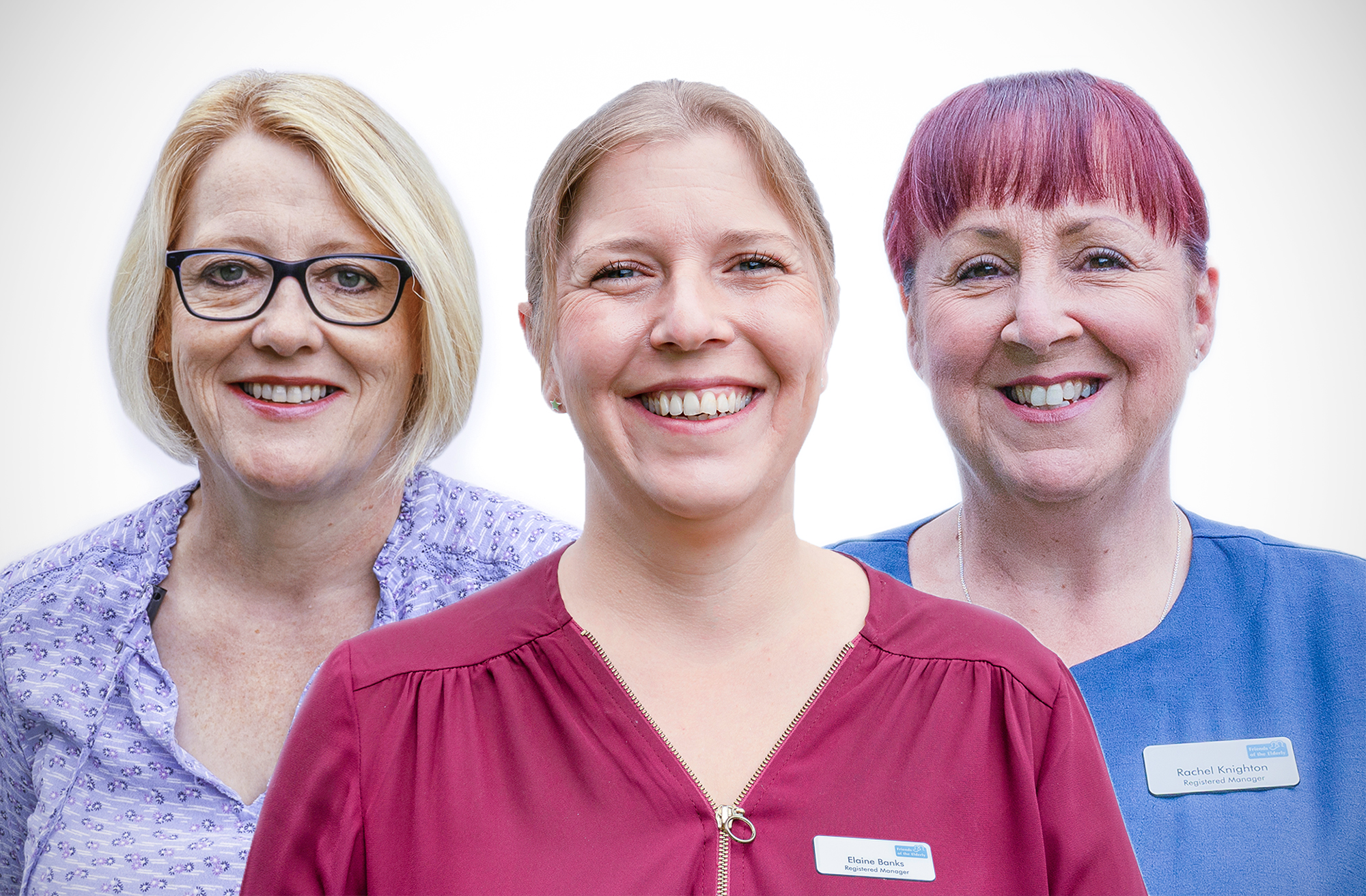 Malvern care home managers Suzanne Park, Elaine Banks and Rachel Knighton
